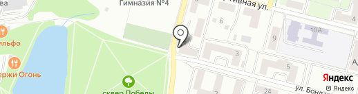 Продуктовый магазин на карте Дзержинского