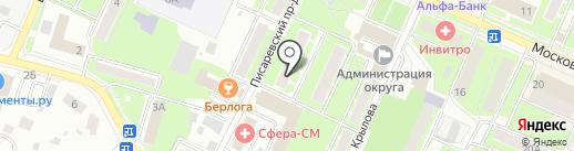 Феникс на карте Пушкино