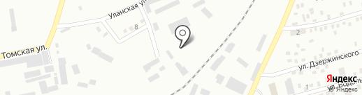 Торговая компания на карте Макеевки