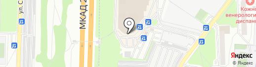 ЛИТЭКС на карте Реутова