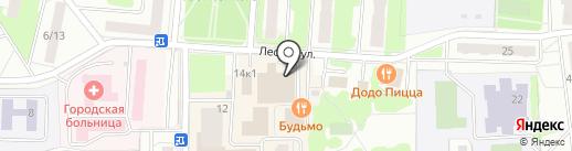 Сотис на карте Королёва
