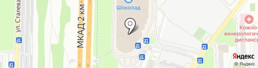 Магазин колготок на карте Реутова