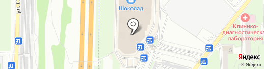 Магазин игрушек на карте Реутова