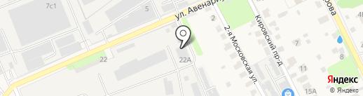 Белостолбовский кирпичный завод на карте Домодедово