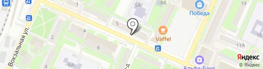 Четкий Взгляд на карте Пушкино
