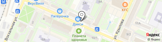 Позитроника на карте Пушкино