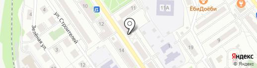 Рыбачок на карте Дзержинского