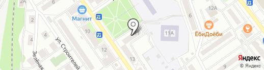 Магазин хозтоваров на карте Дзержинского