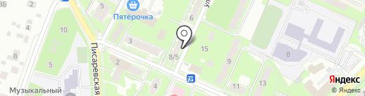 Сеть сервисных центров по ремонту бытовой техники на карте Пушкино