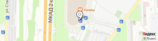 Ранчо на карте Реутова
