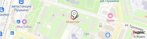 РТВ-Подмосковье на карте Пушкино