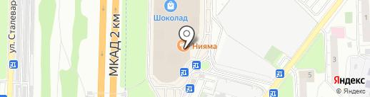 Reebok на карте Реутова