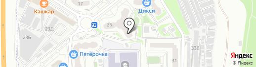 Фордомир на карте Балашихи