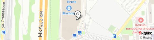 Modis на карте Реутова