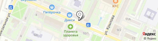 Мастерская по ремонту часов и изготовлению ключей на карте Пушкино