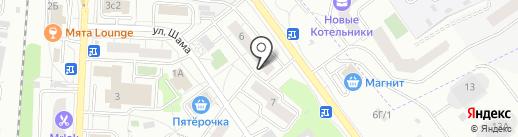 Все Соки на карте Дзержинского