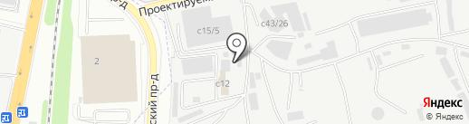 Эском на карте Котельников