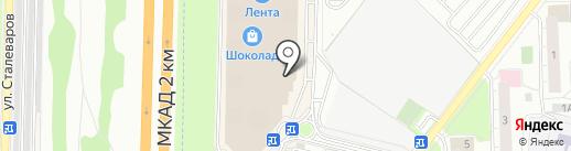 Райтон на карте Реутова
