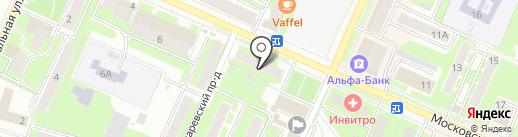 СушиСет на карте Пушкино