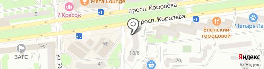 Русский фермер на карте Королёва