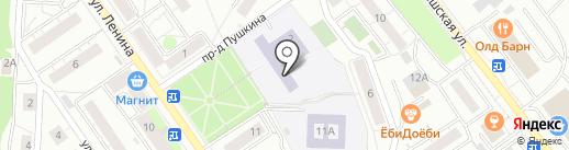 Золотой ключик на карте Дзержинского