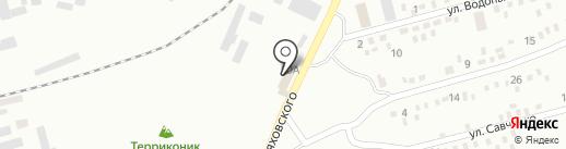 Макарошка на карте Макеевки