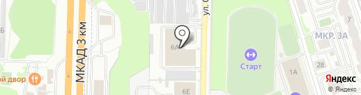 Лимон на карте Реутова