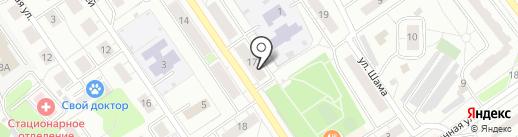 Сеть сервисных центров по ремонту бытовой техники на карте Дзержинского