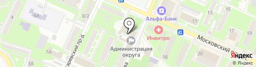 Администрация Пушкинского муниципального района на карте Пушкино