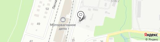 Собина на карте Пушкино