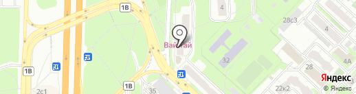 Магазин мясной продукции на карте Реутова