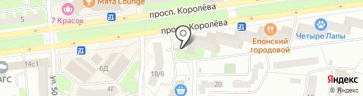 У Палыча на карте Королёва