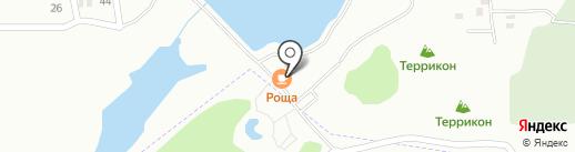Роща на карте Макеевки