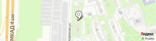 Реутов ТВ на карте Реутова