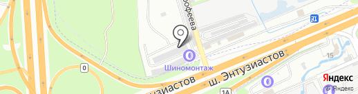 РАТЭК на карте Балашихи