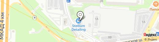 Автомойка на карте Реутова