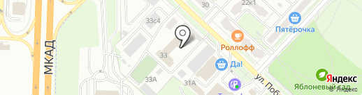 Специализированная пожарная часть на карте Реутова
