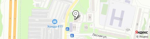 РВК на карте Реутова