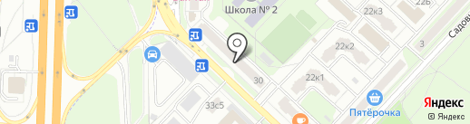 Галерея кофе на карте Реутова