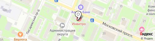 Наш Дом на карте Пушкино