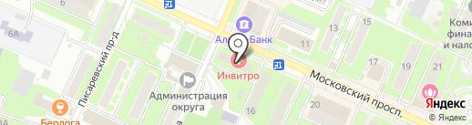 Ves-Gas на карте Пушкино