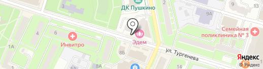 Warning! на карте Пушкино