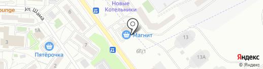 Стройматериалы на Угрешской, 6г на карте Дзержинского