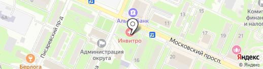 Ананас на карте Пушкино