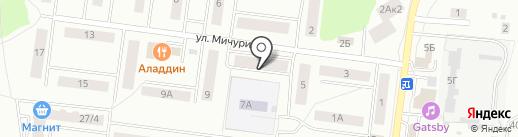 АВС на карте Королёва