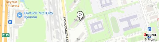 Крылья на карте Реутова