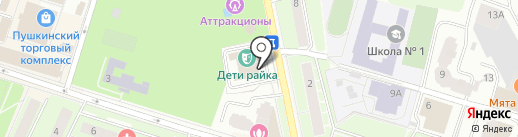Дети Райка на карте Пушкино
