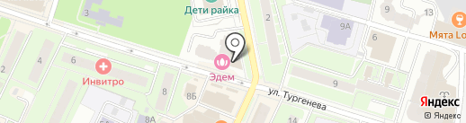 ВЕЛЛ на карте Пушкино