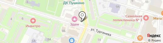 TianDe на карте Пушкино