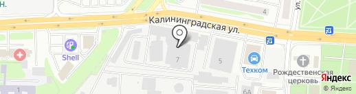 Калининградхлеб на карте Королёва